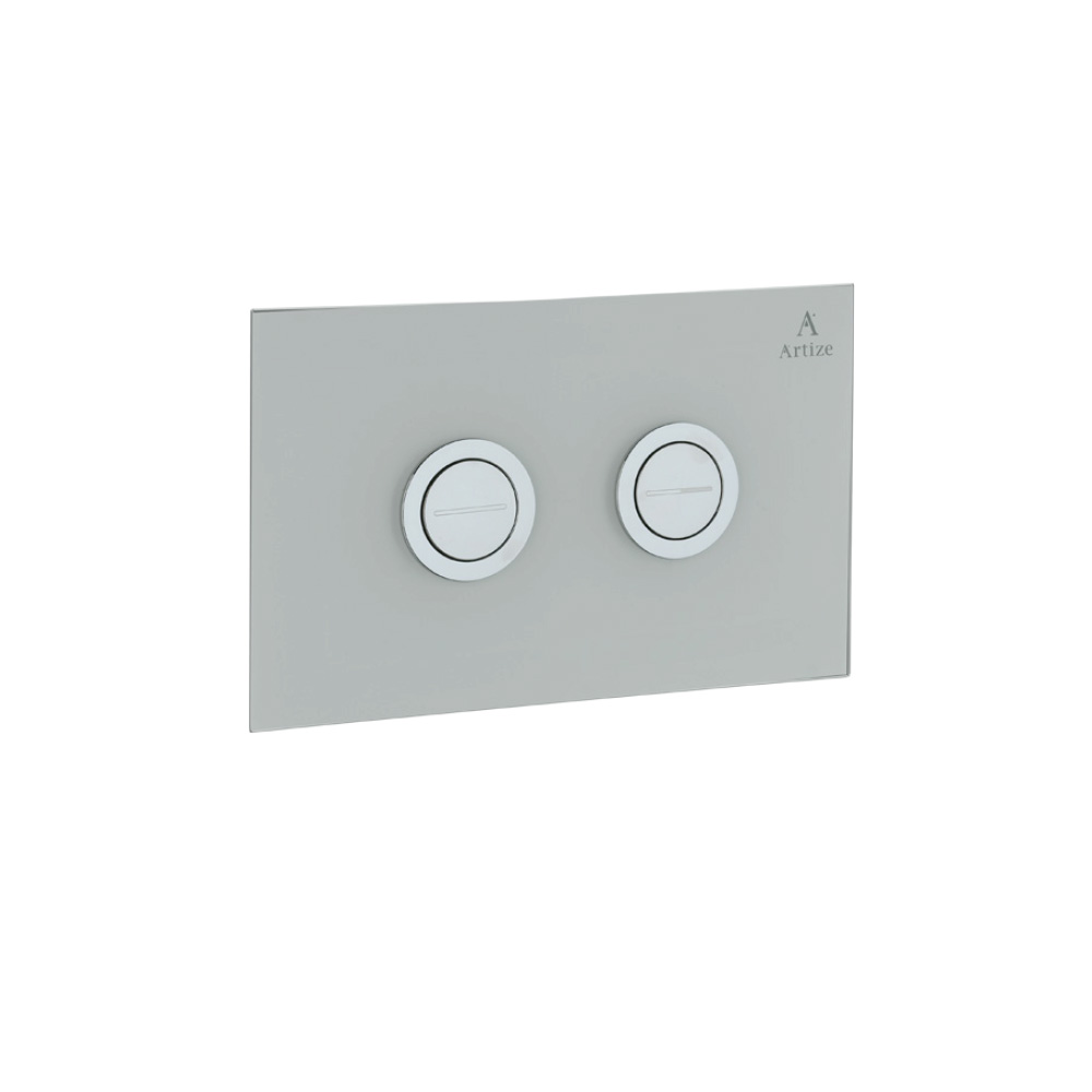 Cilica Pneumatic White Glass Control Plate