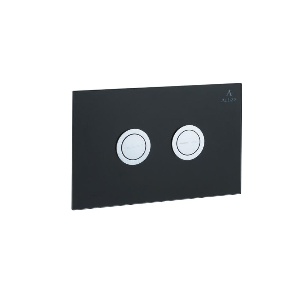 Cilica Pneumatic Black Glass Control Plate