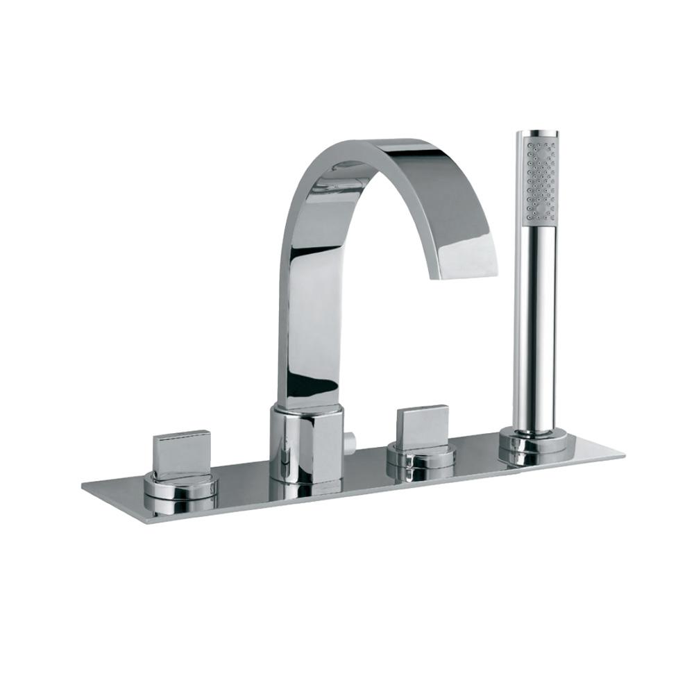 4-Hole Bath & Shower Mixer