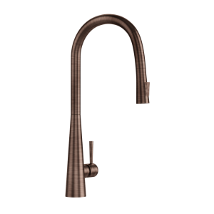 FLO2 Single Lever Pulldown Conical Sink Mixer-Antique Copper