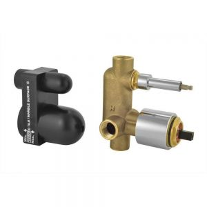 In-wall Body of Manual 2 Outlet Shower Mixer