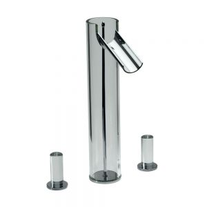 3-Hole High Neck Basin Mixer without Pop-up Waste