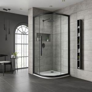 One Door Quadrant Chrome Clear 800x800mm