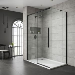 Sliding Door Clear Glass 1000 Mm Right Version