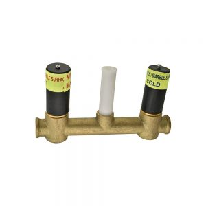 In-wall Body of 3-Hole Basin Mixer