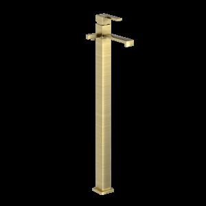Floor Mounted Single Lever Bath Mixer-Gold Dust