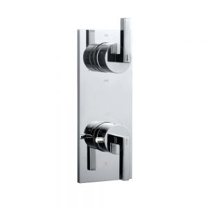 In-wall Thermostatic Shower Valve with 4-Way Diverter-Chrome