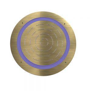 Maze Prime Round Shape Single Function Shower-Antique Bronze