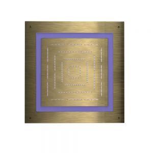 Maze Prime Square Shape Single Function Shower-Antique Bronze