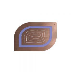 Maze Prime Single Function Shower-Antique Copper