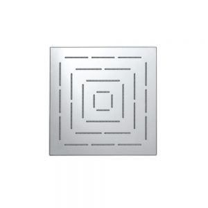 Maze Single Function 150X150mm Square Showerhead