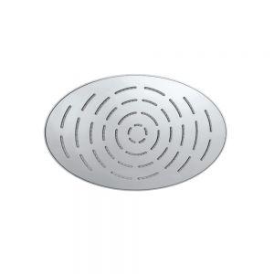 Maze Single Function 340X220mm Oval Showerhead