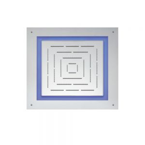 Maze Prime Square Shape Single Function Shower-Chrome