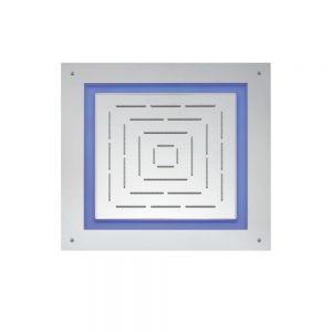 Maze Prime Square Shape Single Function Shower 450 X 450mm