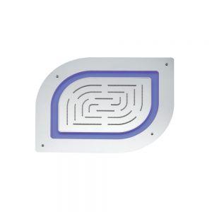 Alive- Maze Prime Single Function Shower 450 X 350mm