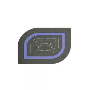 Maze Prime Single Function Shower-Graphite