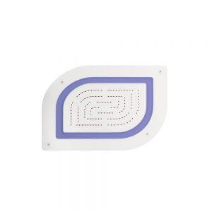 Maze Prime Single Function Shower-White Matt