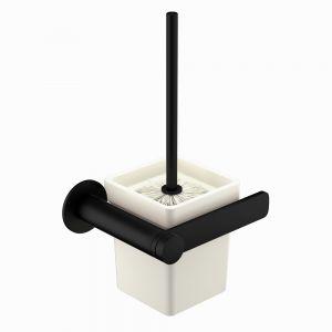 Toilet Brush & Holder-Black Matt