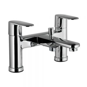 H Type Bath and Shower Mixer-Black Matt