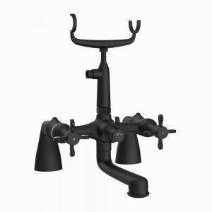 2 Hole Bath and Shower Mixer-Black Matt