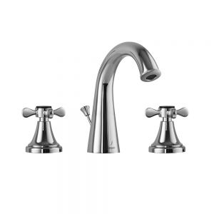 3 Hole Basin Mixer with Popup waste