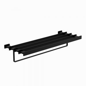 Towel Shelf 600mm Long-Black Matt
