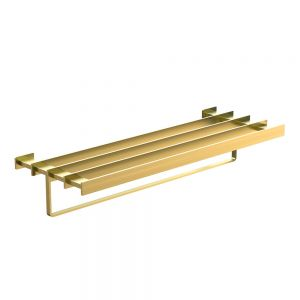 Towel Shelf 600mm Long-Gold Dust