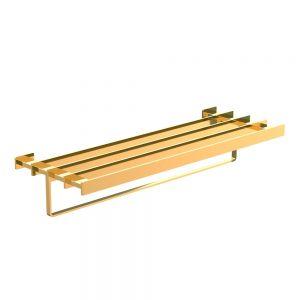 Towel Shelf 600mm Long-Full Gold