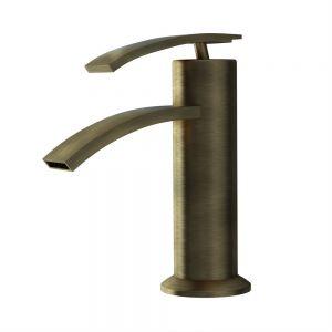 Single Lever Basin Mixer-Antique Bronze