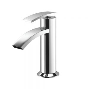 Single Lever Basin Mixer-Stainless Steel