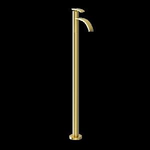 Floor Mounted Single Lever Basin Mixer-Gold Dust