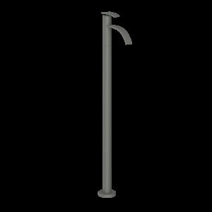 Floor Mounted Single Lever Basin Mixer-Graphite