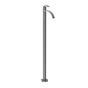 Floor Mounted Single Lever Basin Mixer-Stainless Steel