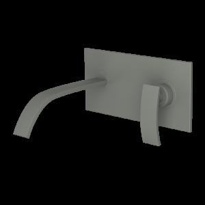 Single Lever In-wall Basin Mixer-Graphite