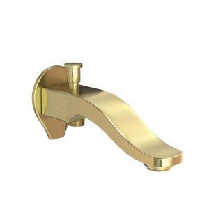 Tiaara Bath Spout with Diverter-Gold Dust