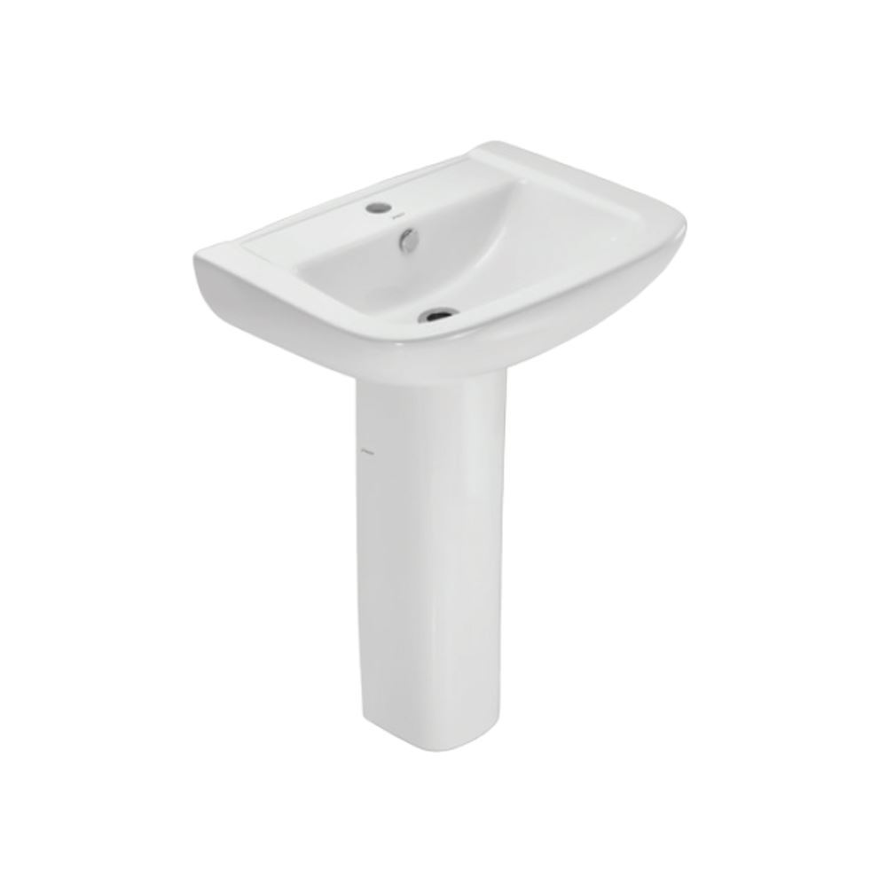 Wash Hung Basin with Full Pedestal