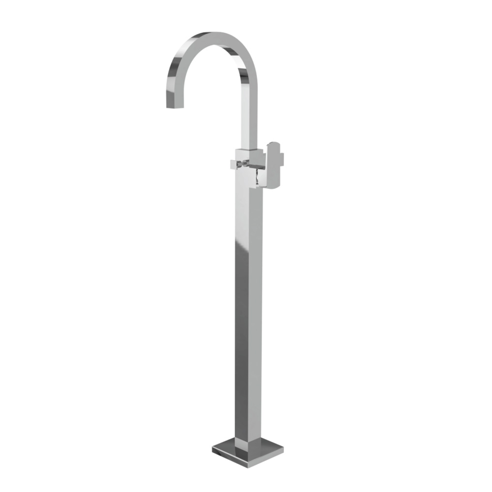 Exposed Parts of Floor Mounted Single Lever Bath Mixer
