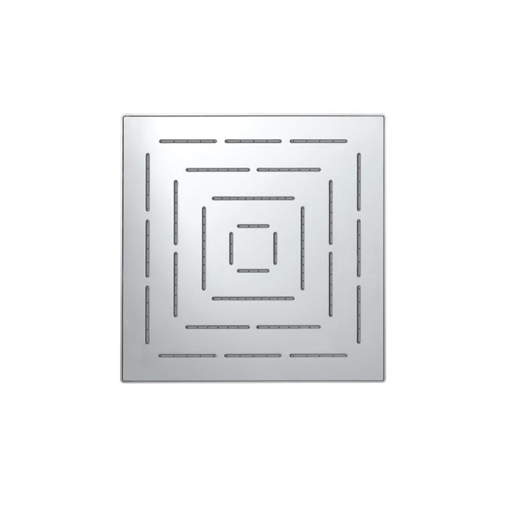 Maze Single Function 200X200mm Square Showerhead