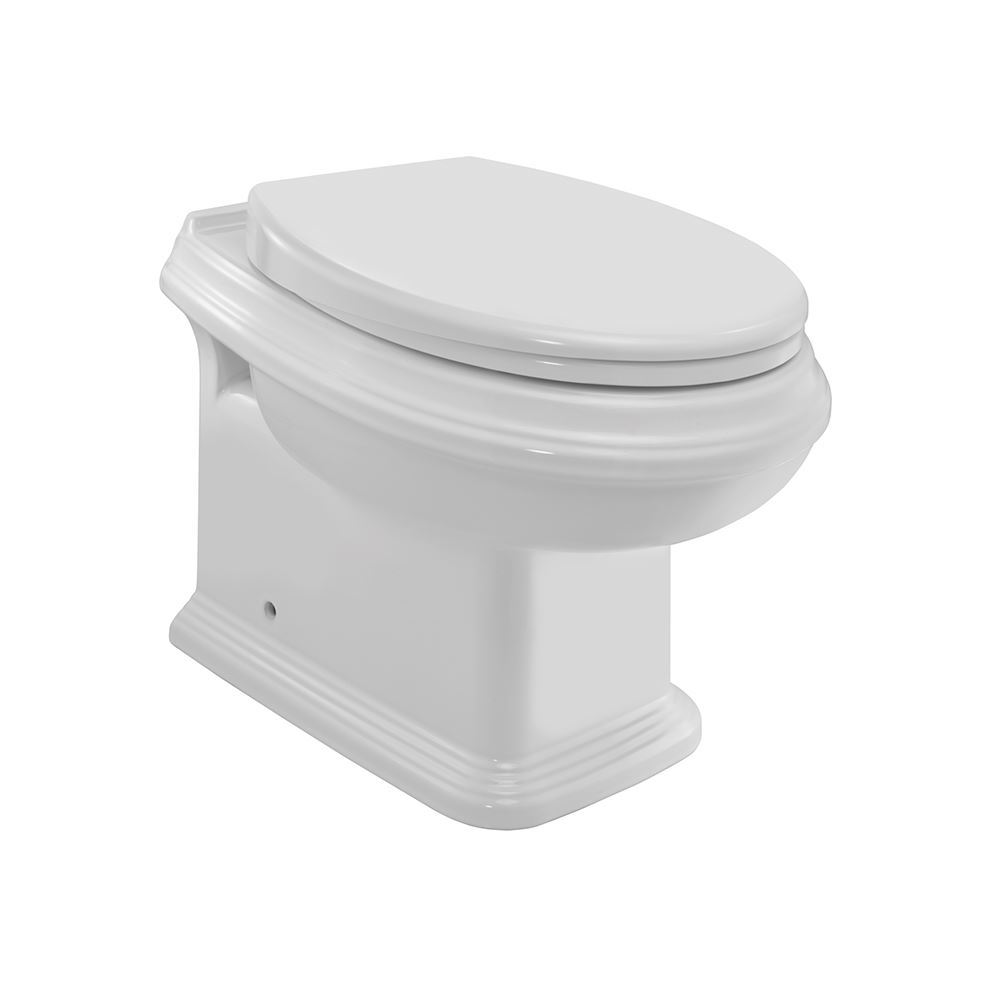Rimless Back to Wall WC