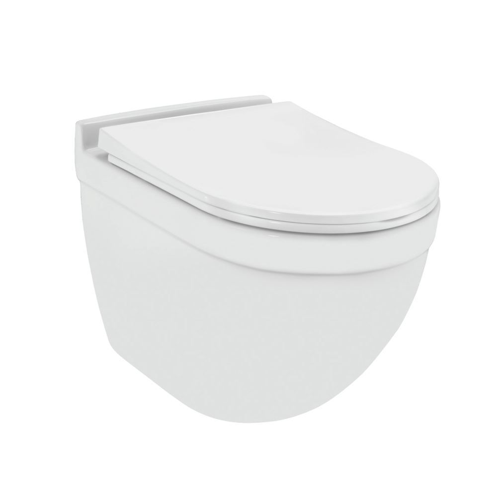 Rimless, Blind Installation Wall Hung WC
