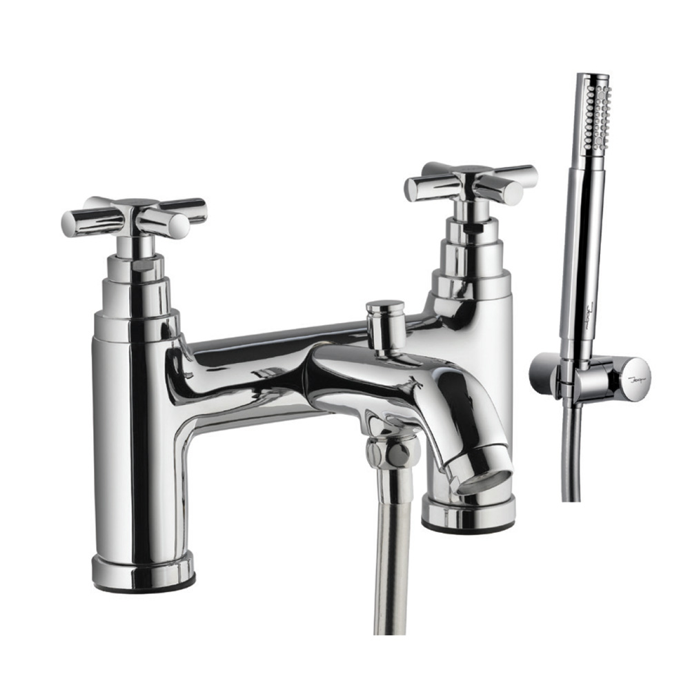 2 Hole H Type Bath and Shower Mixer