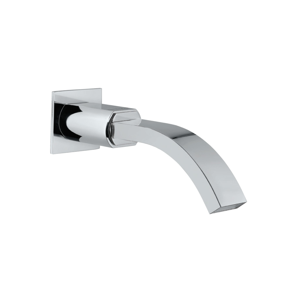 Cellini Bath Spout with Wall Flange